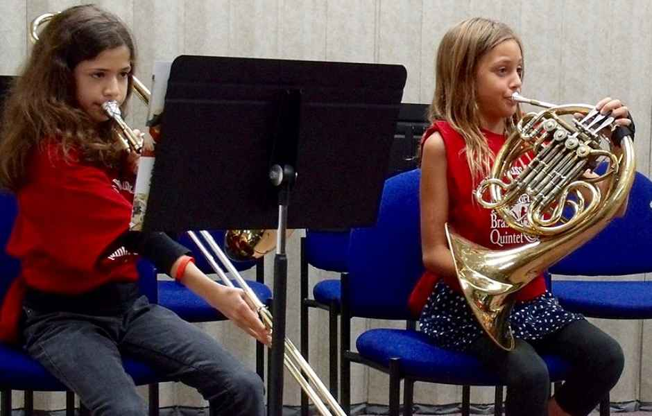 French Horn Performances at International School of Music in Potomac and Bethesda