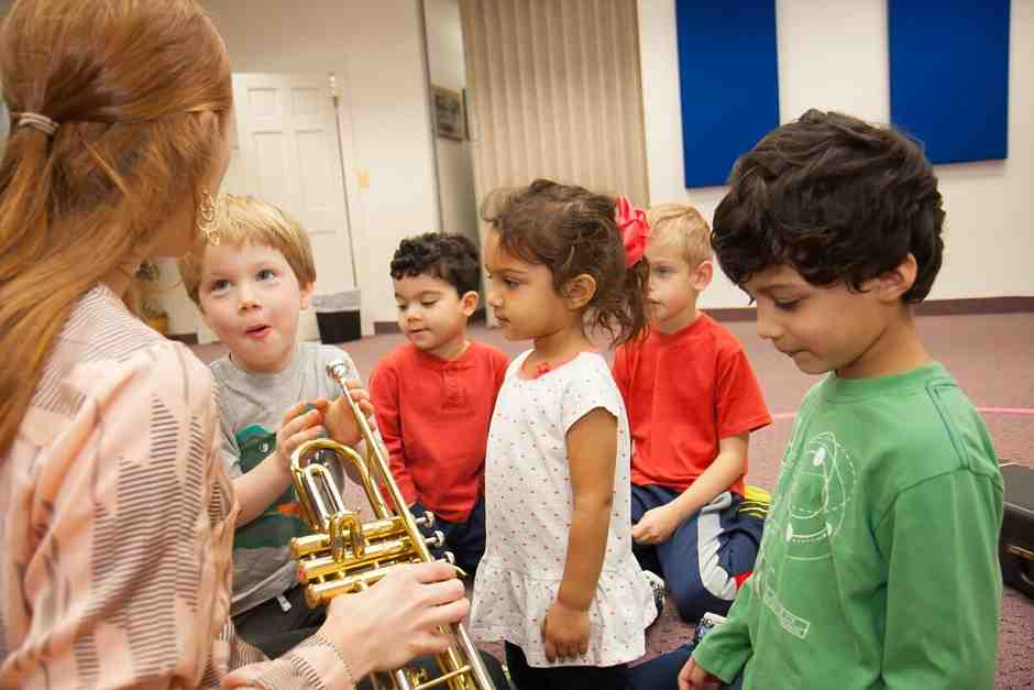 Instrument Explorer Class for Preschoolers at International School of Music in Bethesda