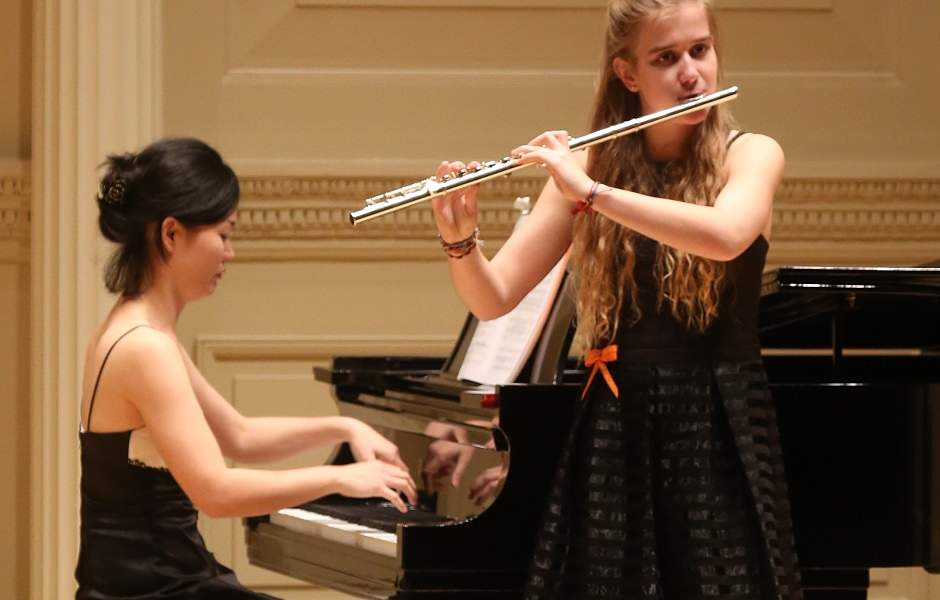 International School of Music student performing in Bethesda