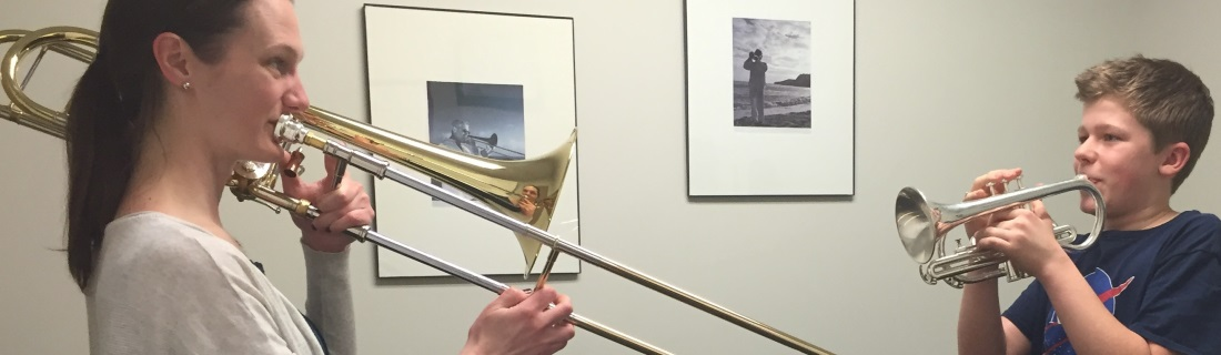 Trombone Classes at INternational School of Music in Bethesda and Potomac