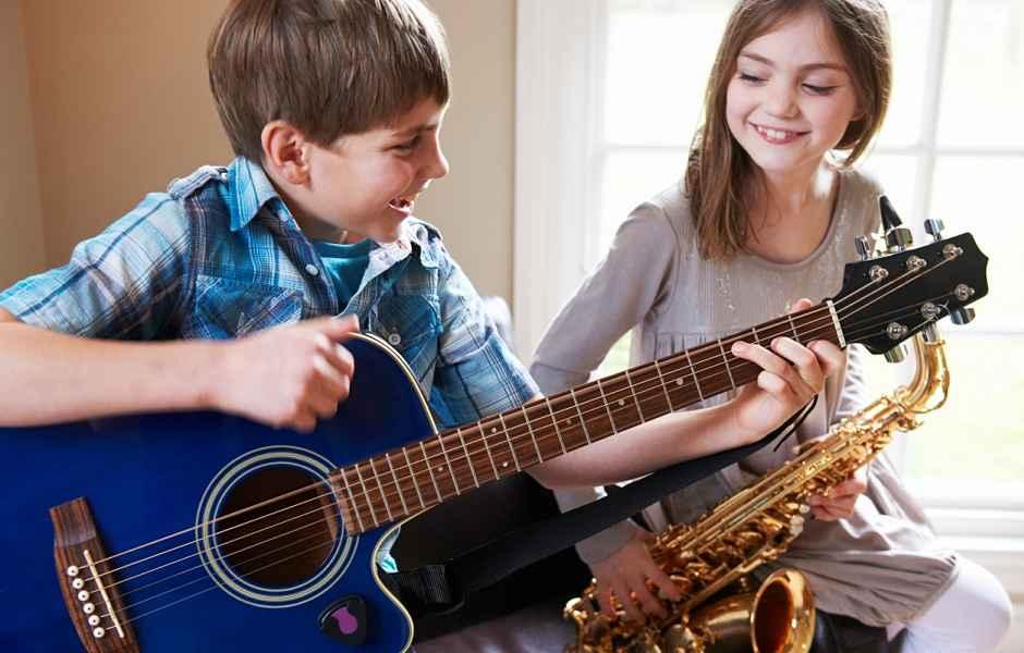 Kid Plays Bassoon