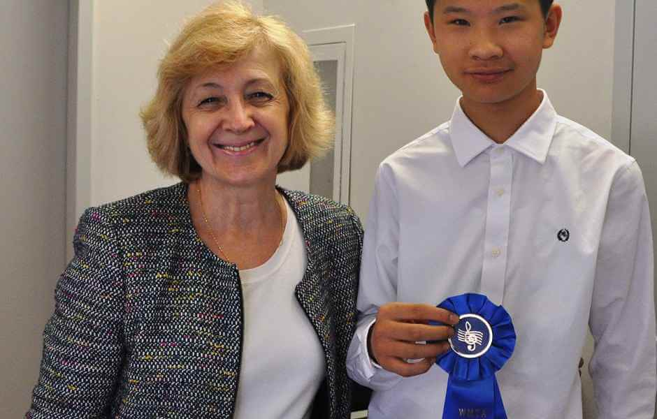 International School of Music student won MTNA music competition in Bethesda