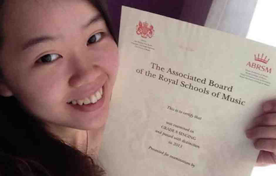 International School of Music student presented with Royal School of Music diploma