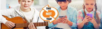 music lessons bring many benefits and help break the addiction to technology